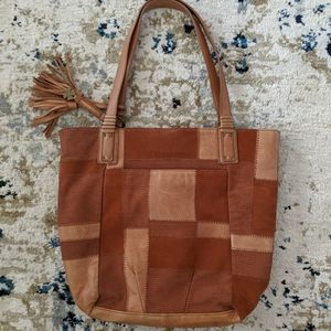 Lucky Brand Leather Hobo
